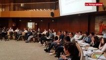 Quimper. Les lycéens face au jury des Startups
