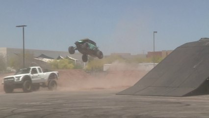 Terra Crew Demos at the Scottsdale Off-Road Expo 2018