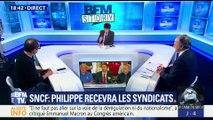Grève à la SNCF:  Édouard Philippe recevra les syndicats le 7 mai