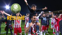 AC Ajaccio - RC Lens (2-0)  - Résumé - (ACA-RCL) / 2017-18