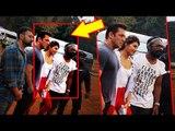 Salman - Jacquelline और Remo D'Souza का ख़ास Pose Race 3 के  Choreographer संग