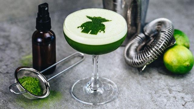 Yoda Sour Cocktail Recipe - Liquor.com