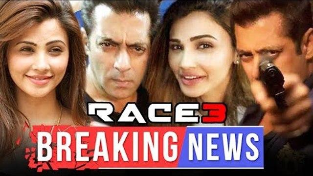 सलमान खान ने शेयर किया रेस ३ का लोगो टीज़र | सलमान खान डेज़ी शाह सेल्फी हुवी वायरल