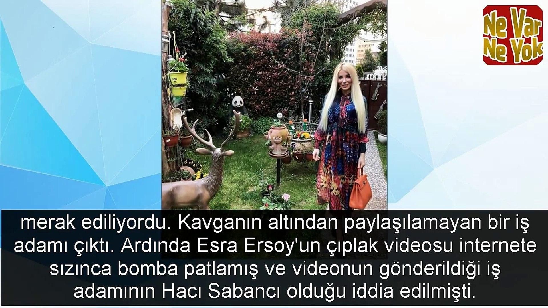 Çıplak videosu ifşa olan Ciciş Esra Ersoy Bilseydim başka bir şey isterdim