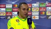 """Keylor: """"El Madrid en ningún momento bajó los brazos"""""""