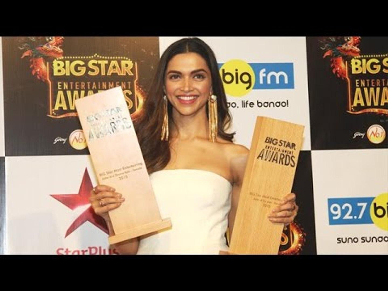 Deepika Padukone @ Big Star Entertainment Awards 2015