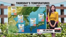 Wide temperature differences under mostly sunny skies_ 042618