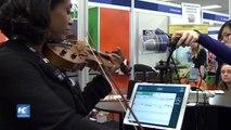 Exposición de educación musical muestra nuevas tendencias digitales
