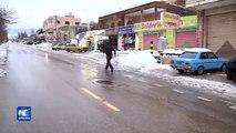 Tormenta Vladimir cubre Líbano con nieve