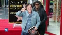 Quentin Tarantino recibe estrella en Paseo de la Fama de Hollywood