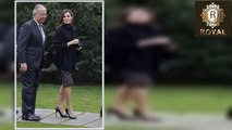 Queen Letizia is relaxed and relaxed