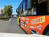 THESE BUS DRIVERS ARE BAD AT THEIR JOB, BUS CRASH AND FAIL APRIL 2018