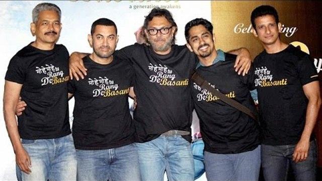 Aamir Khan Celebrates 10 Year Of Rang De Basanti