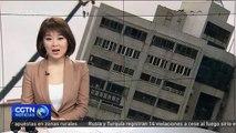 Siete muertos y más de 200 heridos en sismo de 6.5 grados en Hualien