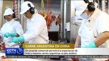 Un acuerdo comercial permite a Argentina exportar más y mejores carnes a China