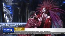 "Plácido Domingo protagoniza la ópera ""Thais"" en Beijing"