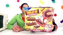 FABRIQUE à BARRES CHOCOLATÉES - CHOCOLATE CANDY BAR MAKER - Avec les BONBONS JELLY BELLY et M&M's