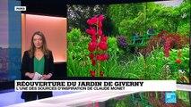 France : le jardin du Giverny rouvre ses portes