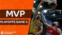 Turkish Airlines EuroLeague Playoffs Game 3 MVP: Anthony Gill & Alexey Shved, Khimki Moscow region