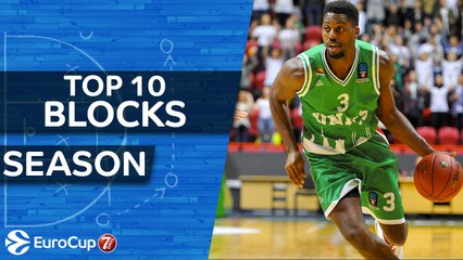 7DAYS EuroCup, Top 10 Blocks of the Season