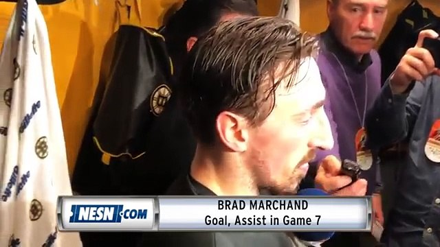 Brad Marchand On Bruins' Game 7 Victory Over Maple Leafs