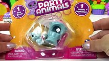 Ice Cream Shake Bear Party Animals Opening Toy Review Food Cookieswirlc