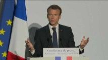 """Pour Macron, Trump n'a pas une """"volonté farouche"""" de défendre l'accord nucléaire iranien"""