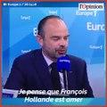 «Macron président des très riches»: Edouard Philippe répond sèchement à François Hollande