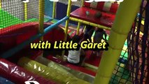 Pool of Plastic Balls! Awesome Indoor Kiddie Playground Playtime w/ Gareth! AsianKids TV31