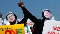 65 Yıl Sonra Bir İlk! Kuzey Kore ile Güney Kore Liderleri , Yarın Tarihi Zirvede Bir Araya Gelecek