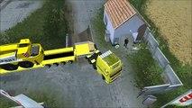 Convoi Exceptionnel LAFONT #2 + Grue Liebherr LTC-1045: Farming Simulator new [FR-HD]