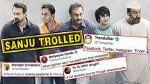 Fans Make Jokes On Sanju Movie Teaser | Ranbir Kapoor | Rajkumar Hirani