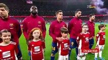 ملخص مباراة برشلونة واشبيلية 5-0 ?هدف ميسى? نهائى كأس الملك? على سعيد الكعبى?