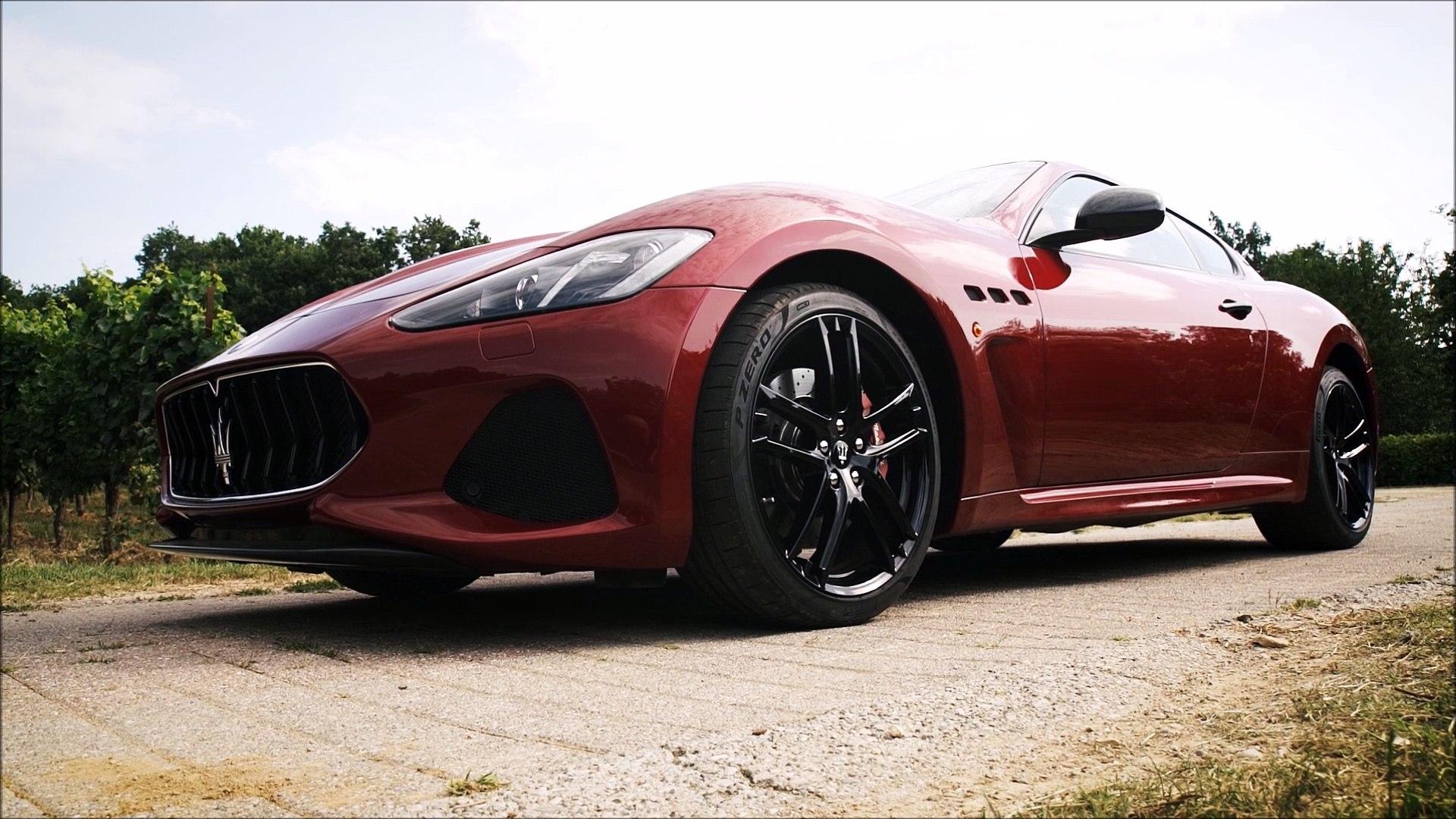 Maserati GranTurismo MC MY2018 - Pure V8 engine sound !