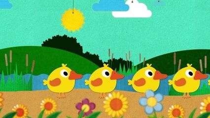Five Little Ducks | Kindergarten Nursery Rhymes & Babies Songs | KipaSongs & gol