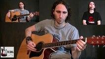 Como Tocar Las Mañanitas en Guitarra Acústica Para Principiantes / Tutorial Fácil Completo! TCDG