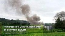 Los vecinos HARTOS de soportar humaredas y contaminación de centro experimental, Siero, Asturias