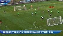 Sergen Yalçın'ın attığı gol