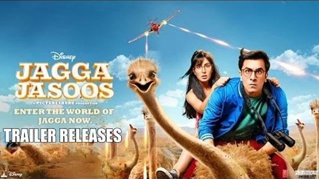 Jagga Jasoos TRAILER OUT | Ranbir Kapoor, Katrina Kaif