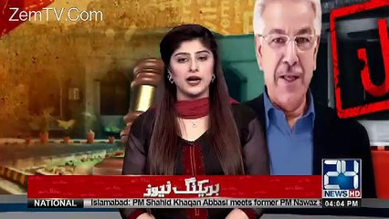 Exclusive Talk of Khawaja Asif After Disqualified