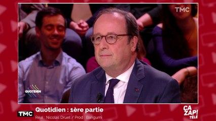 """François Hollande tacle Emmanuel Macron : """"Il est le président des très riches"""""""