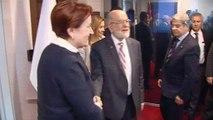 İYİ Parti Genel Başkanı Akşener ve Saadet Partisi Genel Başkanı Karamollaoğlu görüşme gerçekleştirdi