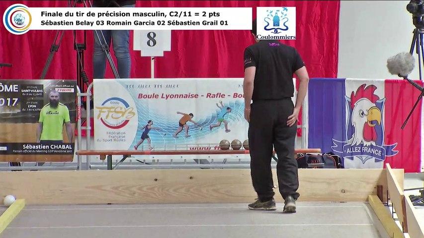 Finale du tir de précision masculin HD, France Tirs, Coulommiers 2018