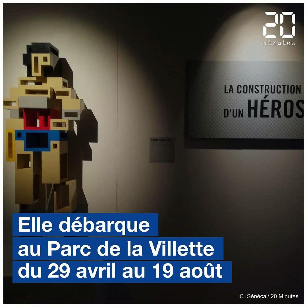 Paris: Venez visiter l'exposition The Art of the Brick LEGO®: DC Super Heroes