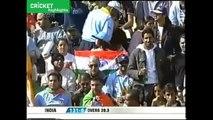 Pakistan Vs India Massive Cricket Fight between Shoaib Akhtar vs Rahul Dravid
