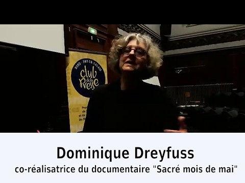 Dominique Dreyfus, co-réalisatrice du documentaire