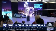 Voiture électrique: les constructeurs jouent des coudes pour s'imposer en Chine
