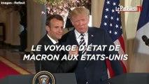 Le voyage d'Etat de Macron aux Etats-Unis vu par les humoristes américains