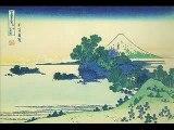 Japanese old woodblock prints -36 Views of Mount Fuji-