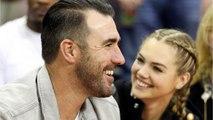 Kate Upton & Justin Verlander Were All Smiles During NBA Date Night